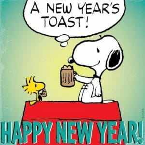 Snoopy: Happy new year