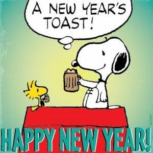 Snoopy: Happy new year