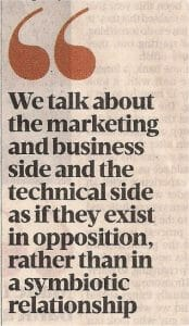 Why tech marketing is important